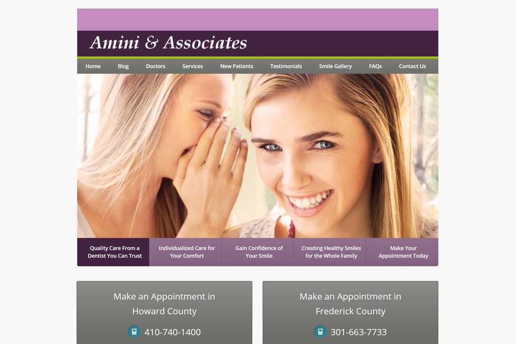 Dr. Amini – Dental Practice